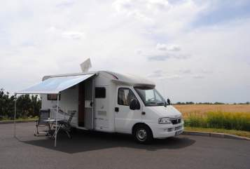 Hire a motorhome in Berlin from private owners| Fiat Gullinborsti