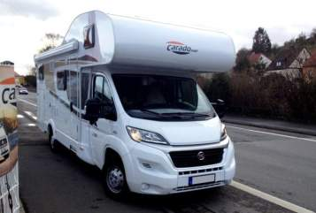 Hire a motorhome in Eisenach from private owners| Fiat Carpatina 6