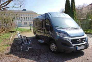 Hire a motorhome in Probstzella from private owners| Fiat Greyhound
