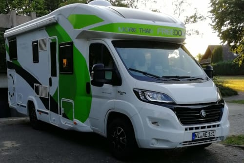Hire a motorhome in Marklohe from private owners| Chausson Zweites Heim