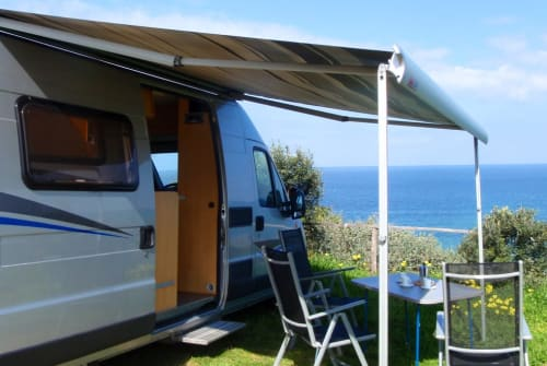 Hire a motorhome in Bulzi from private owners| Pössl  Il Sardo