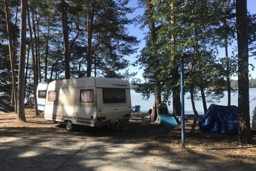 Hire a motorhome in Rötha from private owners| Dehtleffs -* Campfire *-
