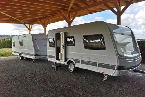 Hire a motorhome in Untersteinach from private owners| Dethleffs Camper 460 EL