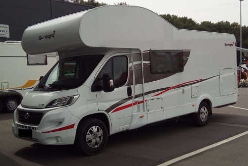 Hire a motorhome in Konstanz from private owners| Fiat  Sunlight  Sunny