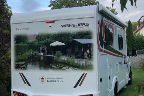 Hire a motorhome in Wardow from private owners| Weinsberg  Manni