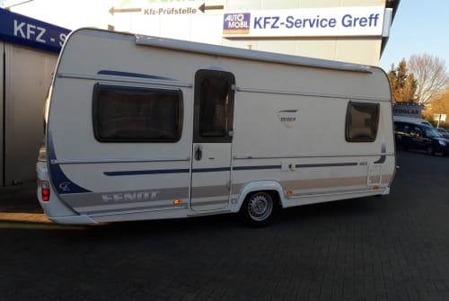 Hire a motorhome in Gründau from private owners| Fendt Bianco Nikki 1