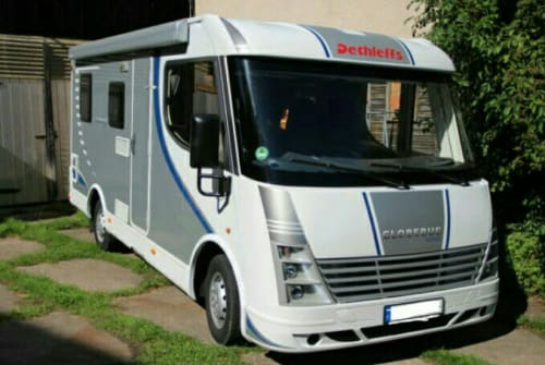 Hire a motorhome in Michendorf from private owners  Dethleffs  Globy 1