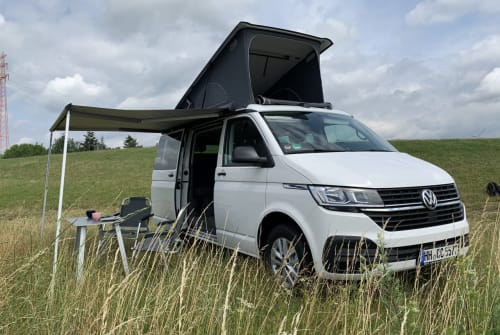 Hire a motorhome in Leinefelde-Worbis from private owners| VW Muh Hirsch