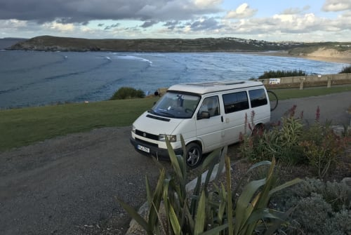 Hire a motorhome in Kamenz from private owners  VW, T4 Rudi