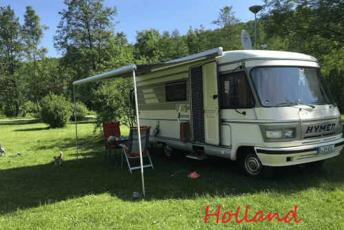 Hire a motorhome in Berlin from private owners| Hymer Willi
