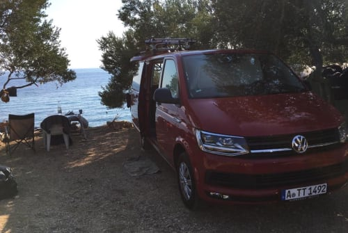 Hire a motorhome in Augsburg from private owners  VW Tornado Tom