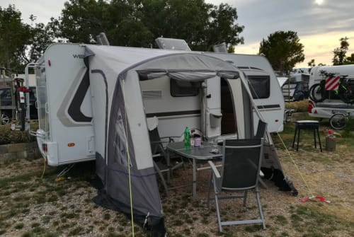 Hire a motorhome in Herford from private owners  Weinsberg Falken Nest