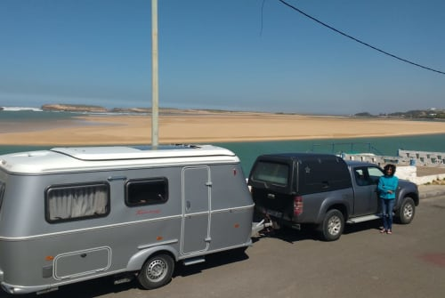 Hire a motorhome in Wolfertschwenden from private owners  Hymer Kasbah