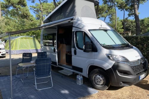 Hire a motorhome in Dormagen from private owners| Pössl Pösseliese