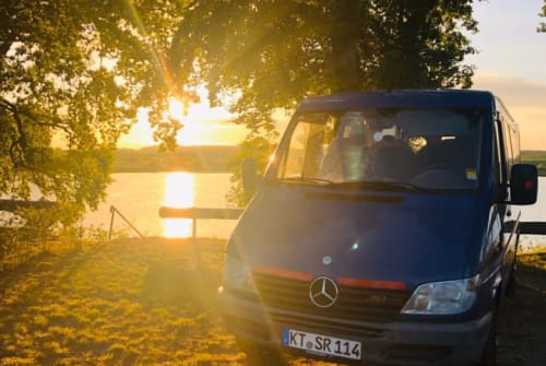 Hire a motorhome in Volkach from private owners| Mercedes Benz Albus