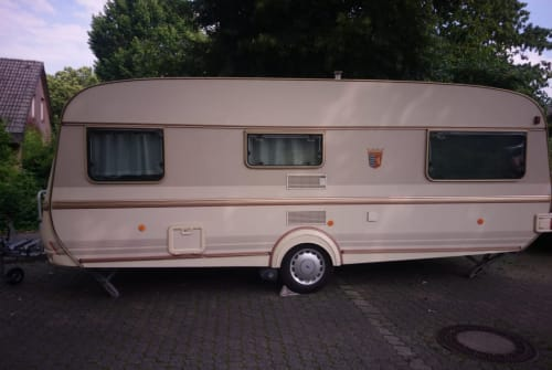 Hire a motorhome in Kleve from private owners  Tabbert Calabras