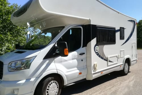 Hire a motorhome in Schrobenhausen from private owners  Chausson Wolkie *new*