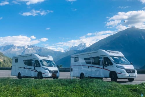 Hire a motorhome in Heideblick from private owners  Fiat Sunny