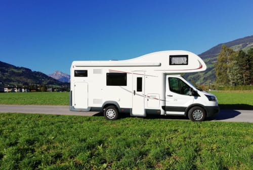 Hire a motorhome in Buch in Tirol from private owners| Roller Team  Roll Nicki