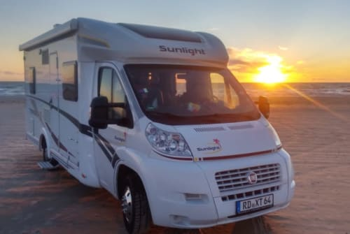 Hire a motorhome in Wattenbek from private owners| Fiat  Sunny