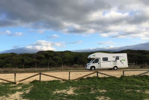 Hire a motorhome in Rackwitz from private owners| Fiat Neo