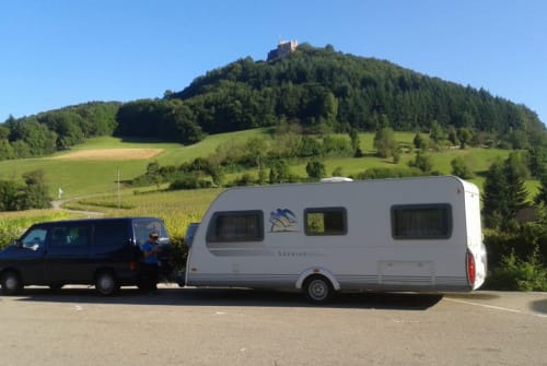 Hire a motorhome in Hohen Neuendorf from private owners| Knaus der Breite