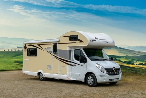 Hire a motorhome in Dresden from private owners  Ahorn Claus
