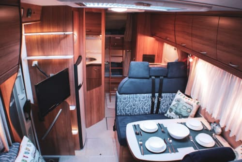 Hire a motorhome in Geesthacht from private owners| Eura Mobil Die Traumreise