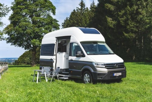 Hire a motorhome in Freising from private owners| VW GrandCalifornia