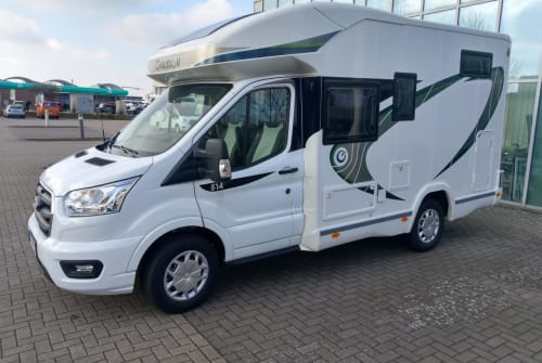 Hire a motorhome in Erfurt from private owners  Chausson  Cooler