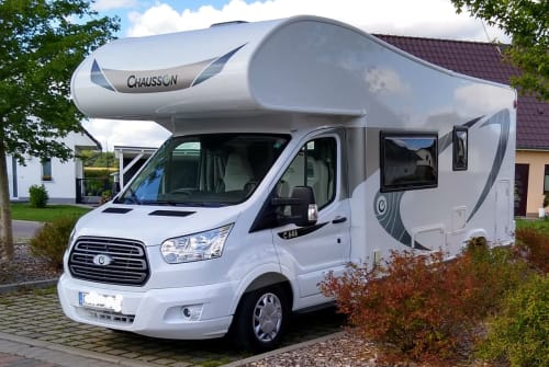 Hire a motorhome in Sukow from private owners  Chausson Carlson