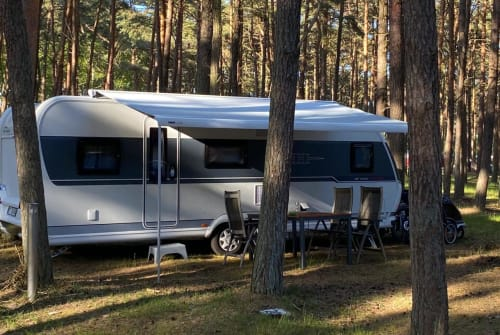 Hire a motorhome in Erfurt from private owners  Hobby Wohni