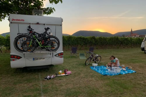Hire a motorhome in Geisenheim from private owners| Dethleffs  Didi