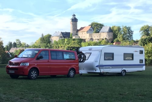 Hire a motorhome in Wonsees from private owners| Hobby Mr. Hobbs