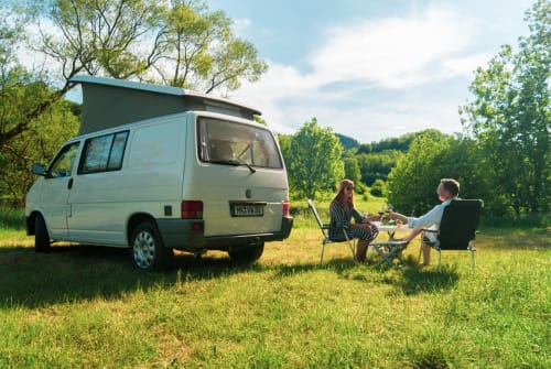 Hire a motorhome in Plettenberg from private owners| VW Calli