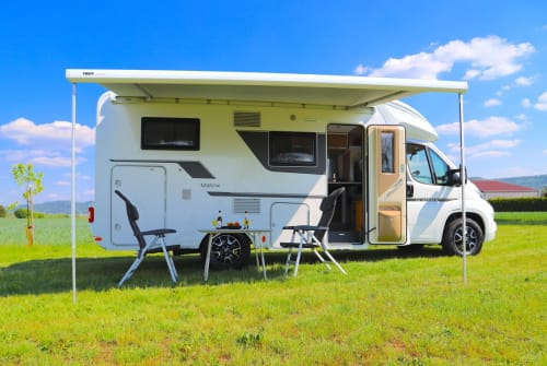 Hire a motorhome in Backnang from private owners  Adria Holly