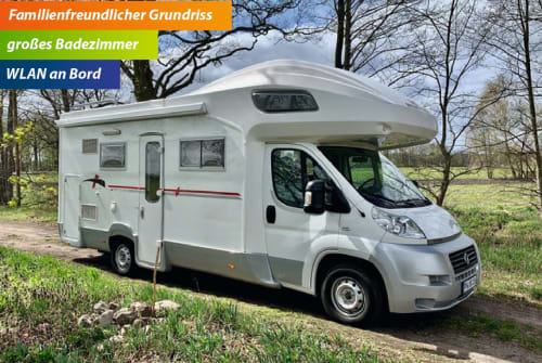 Hire a motorhome in Nuthetal from private owners  Roller Team (Fiat) Miss Sunshine