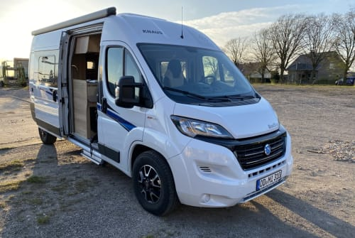 Hire a motorhome in Schwerin from private owners  Knaus Fiete