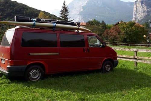 Hire a motorhome in Dippoldiswalde from private owners| VW T4 Wochenendbusi