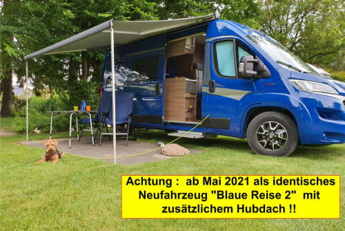 Hire a motorhome in Geltendorf from private owners  Knaus Blaue Reise 1