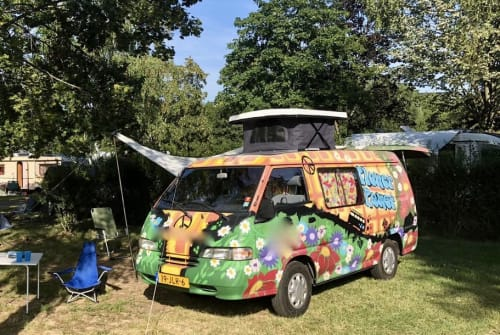 Hire a motorhome in Nijmegen from private owners  Hyundai Hippie