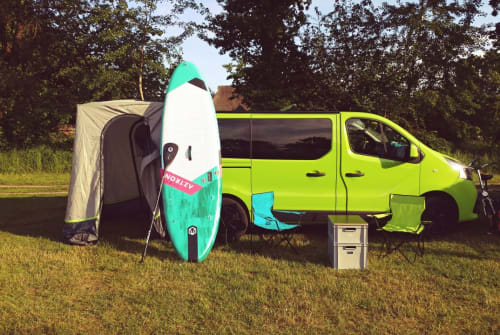 Hire a motorhome in Norderstedt from private owners  Reanult Greeny