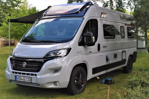 Hire a motorhome in Krauschwitz from private owners| Fiat Ducato Kastenwagen Van 114 Giovanni