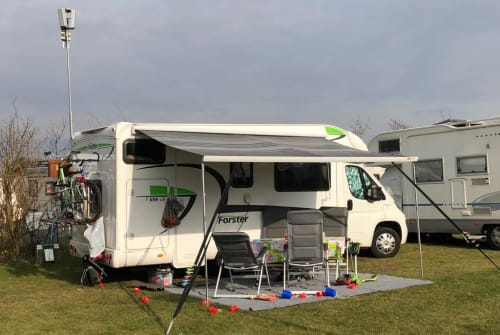 Hire a motorhome in Herford from private owners  Fiat Ducato  Fiat Ducato