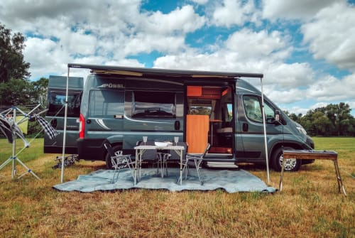 Hire a motorhome in Haunetal from private owners| Pössel Autarkmobil