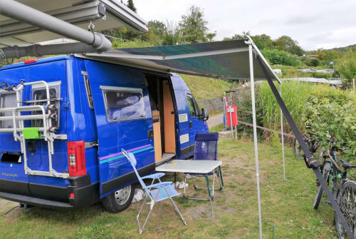 Hire a motorhome in Burkardroth from private owners| Peugeot  Blauer Blitz