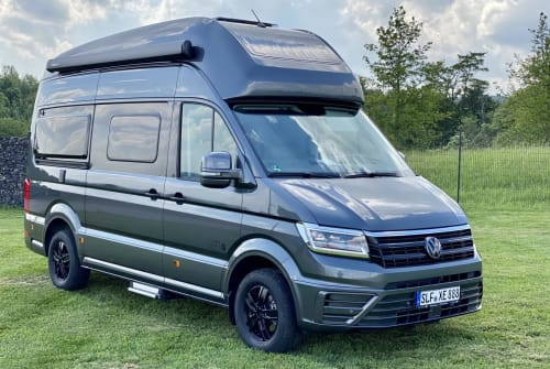 Hire a motorhome in Unterwellenborn from private owners| Volkswagen  Cali 600 Deluxe