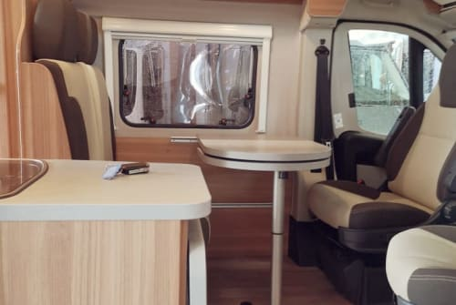 Hire a motorhome in Burkardroth from private owners| Fiat Ducato Black Cara
