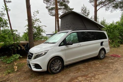 Hire a motorhome in Schwerin from private owners   Mercedes V Klasse Rakete