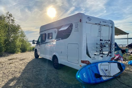 Hire a motorhome in Lommatzsch from private owners| Fiat hw-wohnmobil